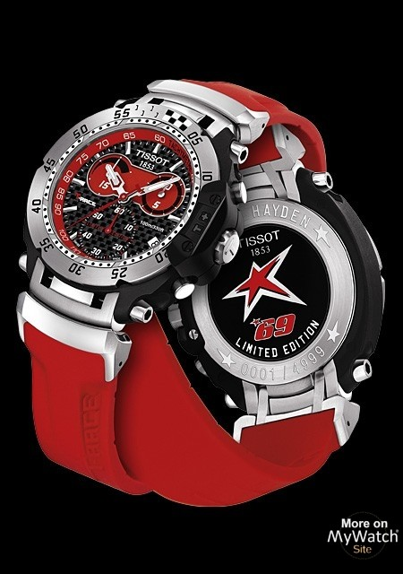 111184dc210 Watch Tissot T-Race Nicky Hayden
