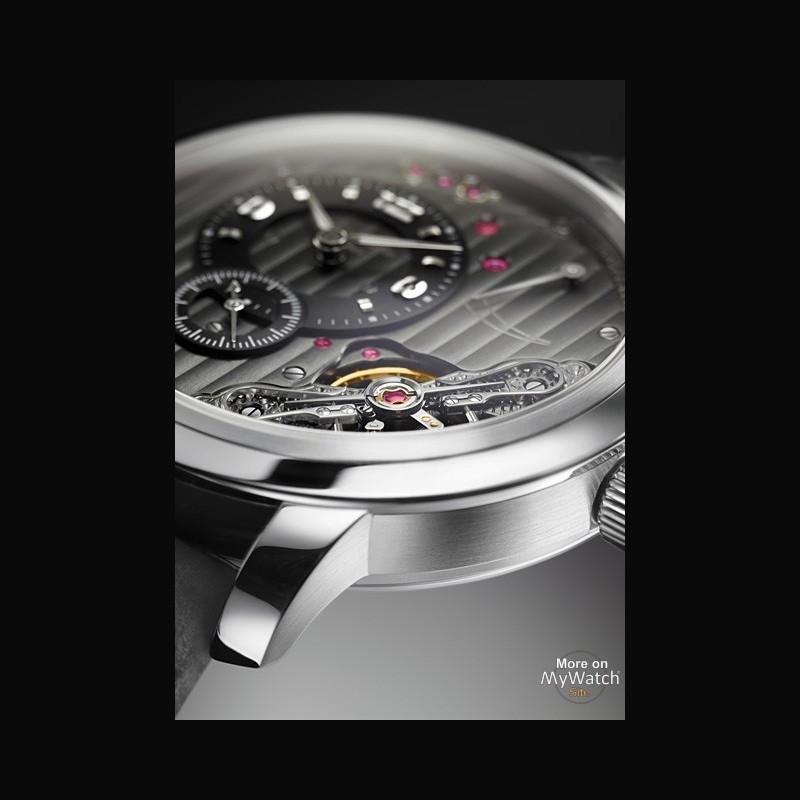 watch glashütte original panoinverse xl  pano 66040402