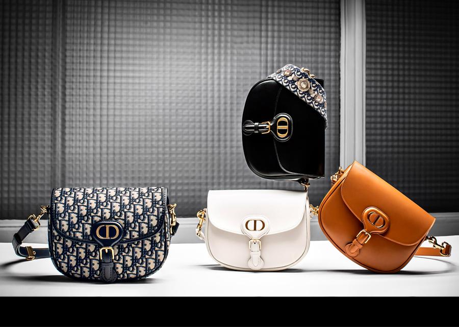 La collection de sacs Bobby griffés Dior