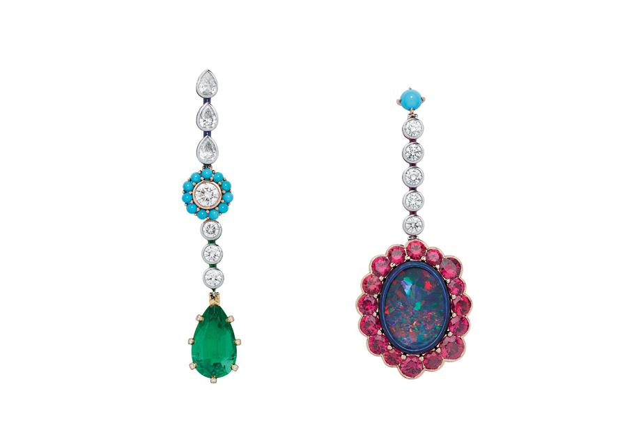 Dior Joaillerie - Boucles d'oreilles «Dior et Moi»