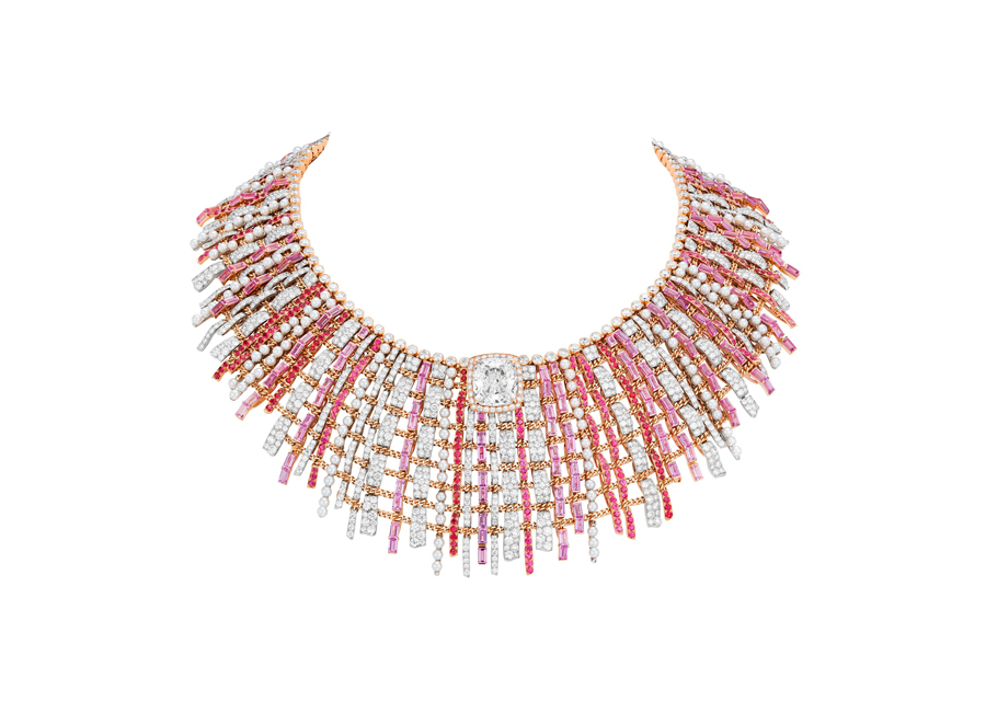 Chanel Haute Joaillerie - Collier Tweed Couture