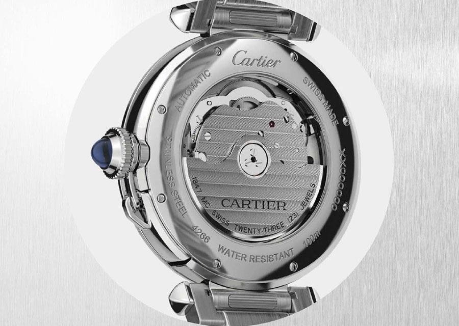 Le calibre de manufacture Cartier 1847 MC.