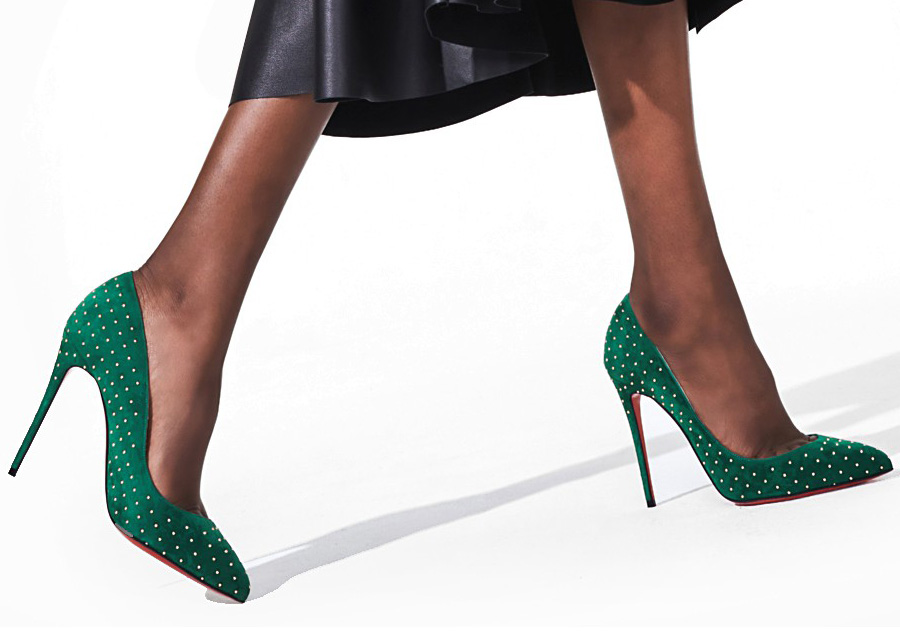 L'escarpin Pigalle Follies de Christian Louboutin