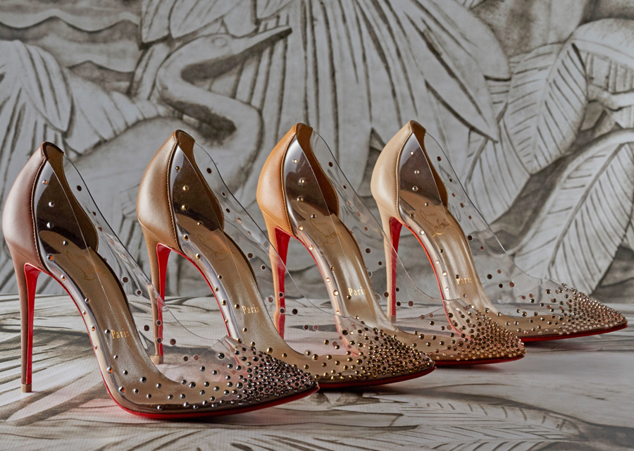 "La collection ""Nudes"" de Christian Louboutin"