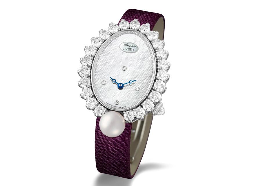 L'éblouissante Breguet Perles Impériales Haute Joaillerie
