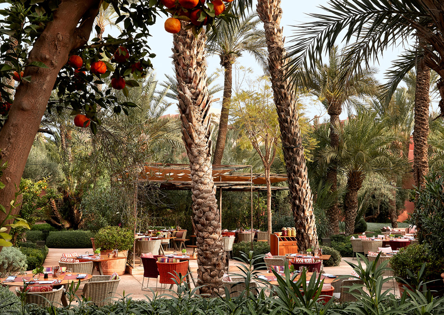 Le restaurant le Jardin
