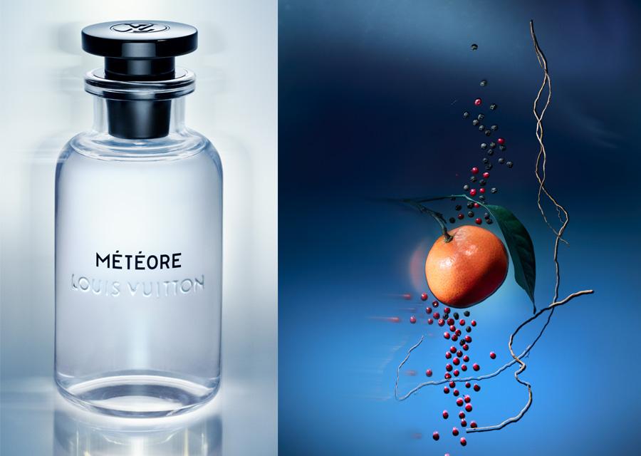 Météore, le nouveau parfum de Louis Vuitton