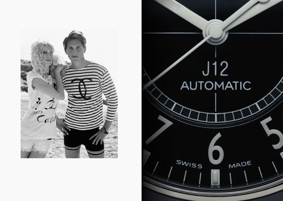 Extraits du livre J12 Instant Éternel sur le J12 de Chanel