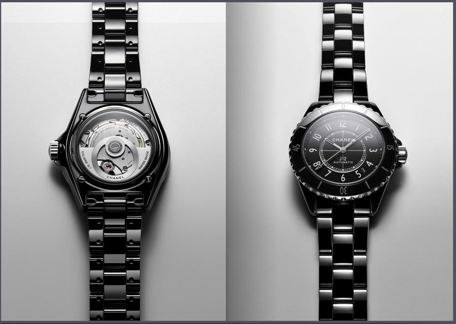 La montre J12 de Chanel Calibre 12.1