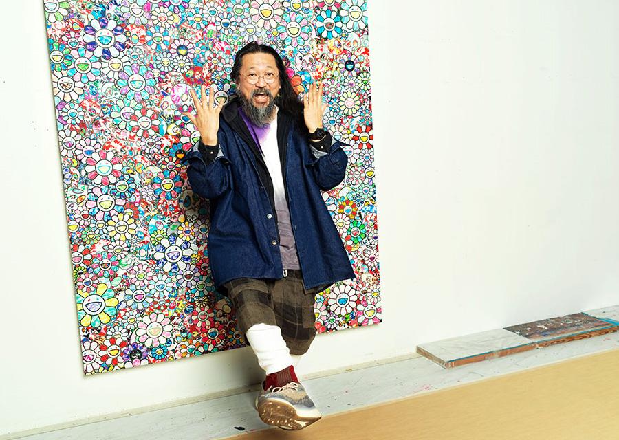 L'univers loufoque et atypique de l'artiste Takashi Murakami