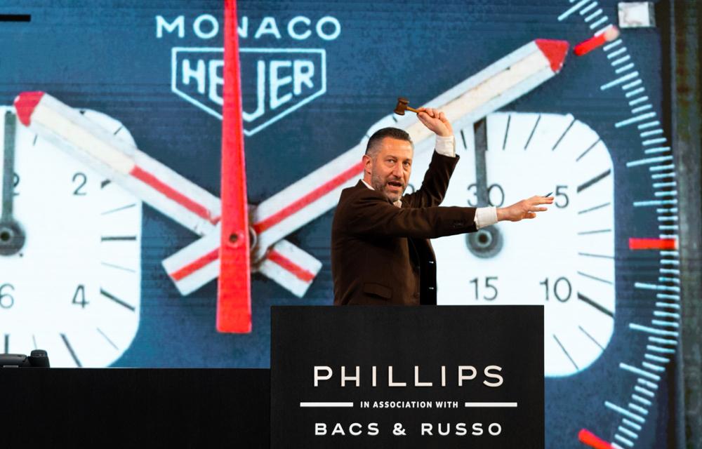 Aurel Bacs a orchestré la vente record Phillips Racing Pulse le 12 décembre 2020