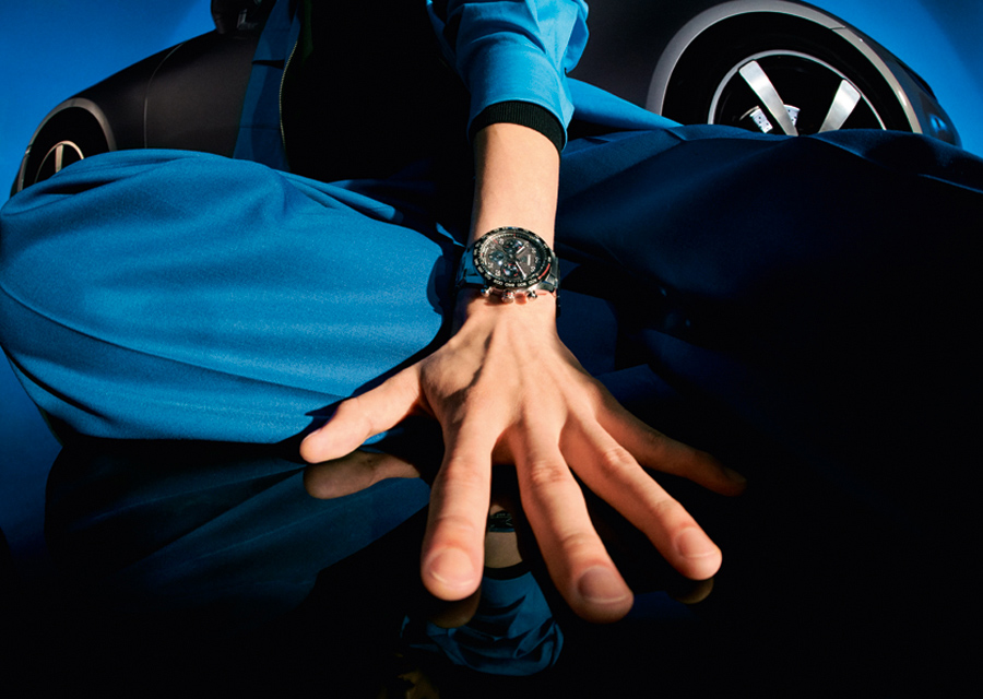 Le Chronographe TAG Heuer Carrera Porsche existe aussi en version tout acier