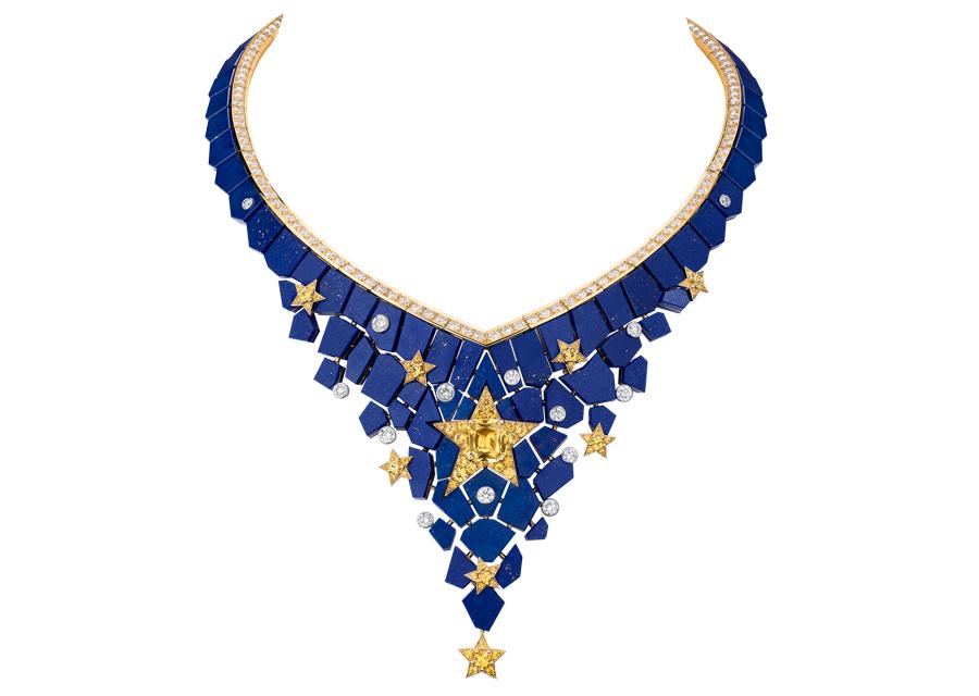 Le collier CONSTELLATION ASTRALE de la collection Escale à Venise de Chanel