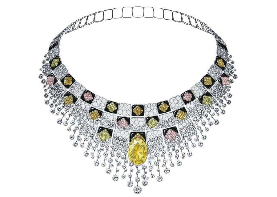 Le plastron SERENISSIME de la collection Escale à Venise de Chanel
