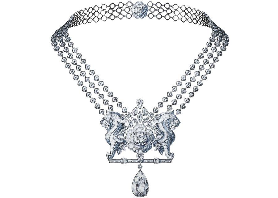 Le collier LION SECRET de la collection Escale à Venise de Chanel