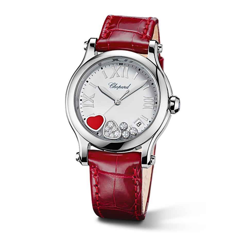 Montre Happy Sport – Happy Heart de Chopard saint-valentin