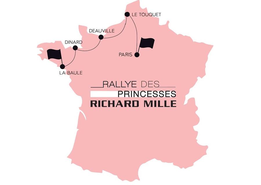 Les cinq étapes du Rallye des Princesses Richard Mille