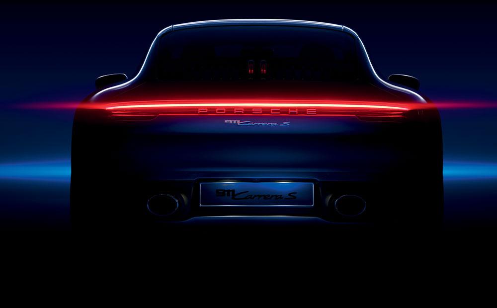 L'image icone de la Porsche 911 pour le lancement de la montre TAG Heuer Carrera Porsche
