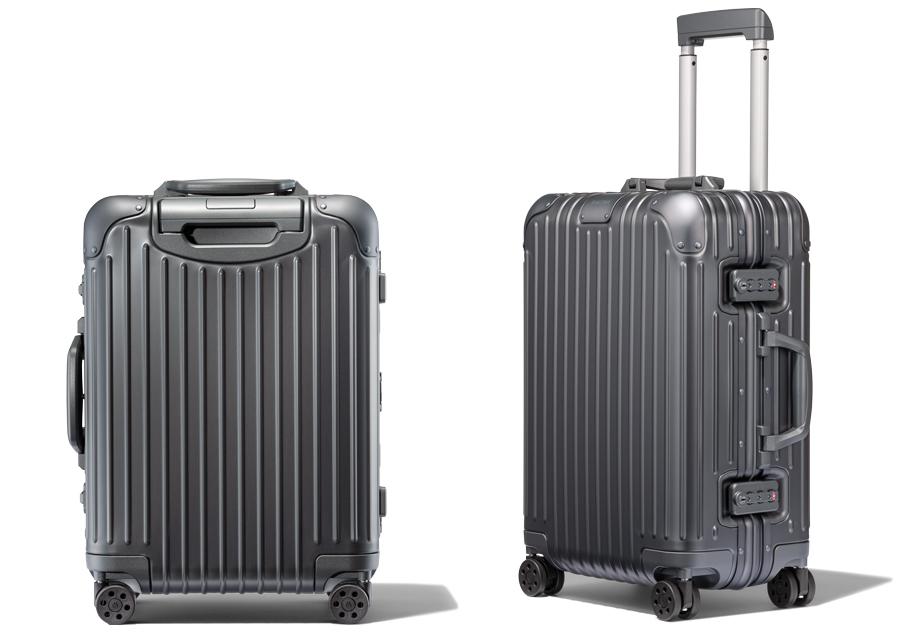 Mercure, la nouvelle valise de Rimowa au style élégant et sophistiqué