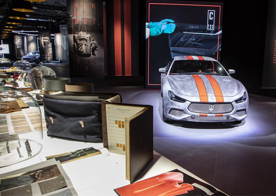 Fuoriserie, l'atelier Haute Couture de personnalisation de Maserati situé à Modène en Italie
