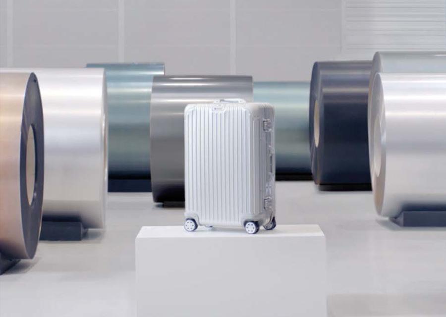 Innovation majeure de Rimowa, sa valise en polycarbonate
