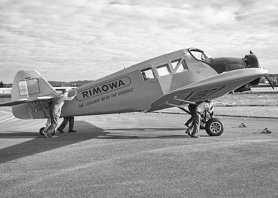 L'âge d'or de l'aviation a inspiré le design des bagages Rimowa