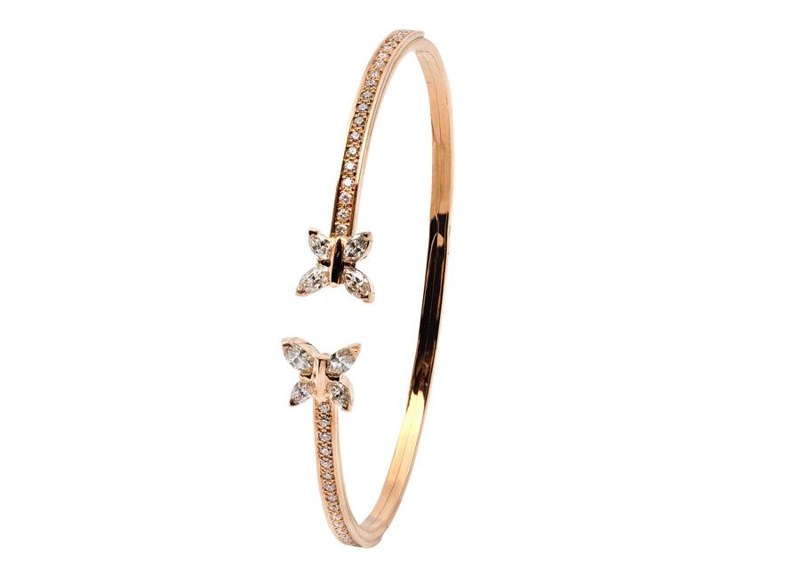 La bracelet de la collection Papillon by Dubail
