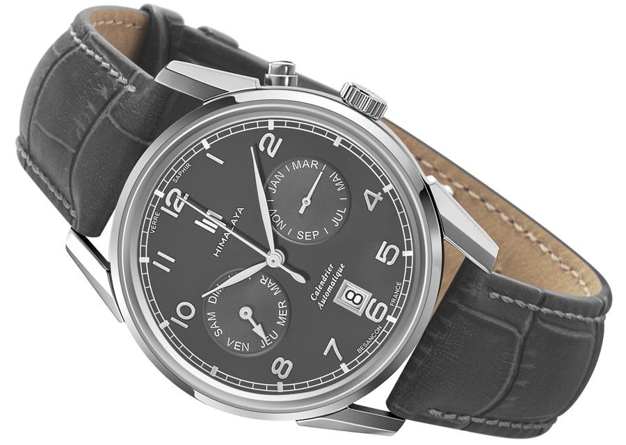 La montre automatique LIP Himalya Calendrier possède deux compteurs ^pour les jours et les mois