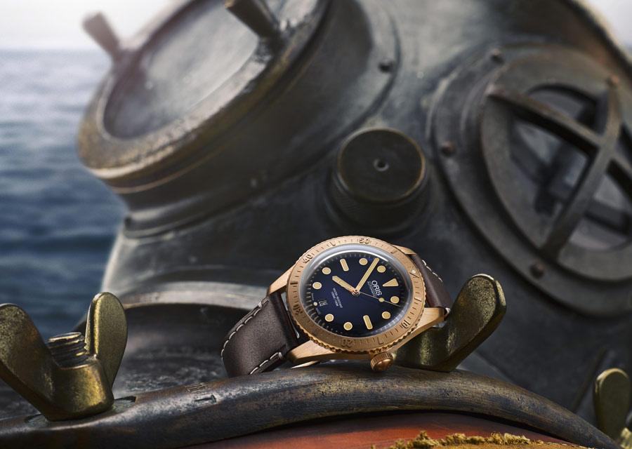 La montre en bronze Oris Carl Brashear rend hommage au plongeur militaire noir américain éponyme