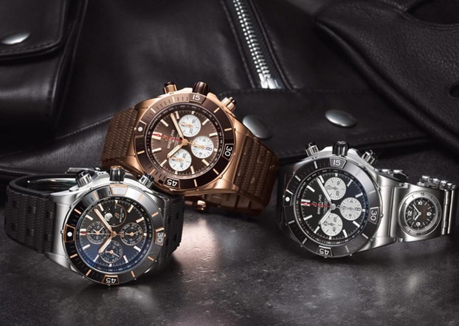 La nouvelle Super Chronomat de Breitling est une montre polyvalente de haute performance à l'allure sportive.