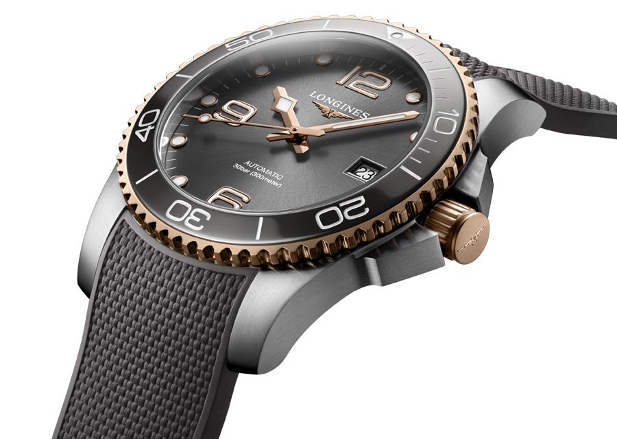 La Longines HydroConquest est une montre de plongée étanche à 300 mètres