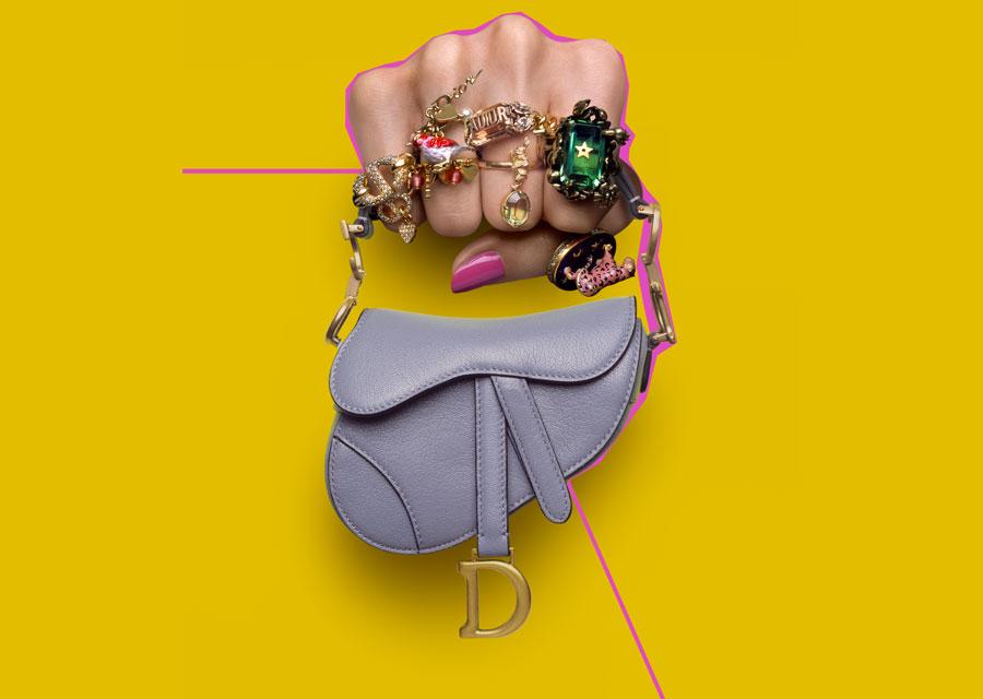 Le nouveau Micro-Bag Dior Saddle