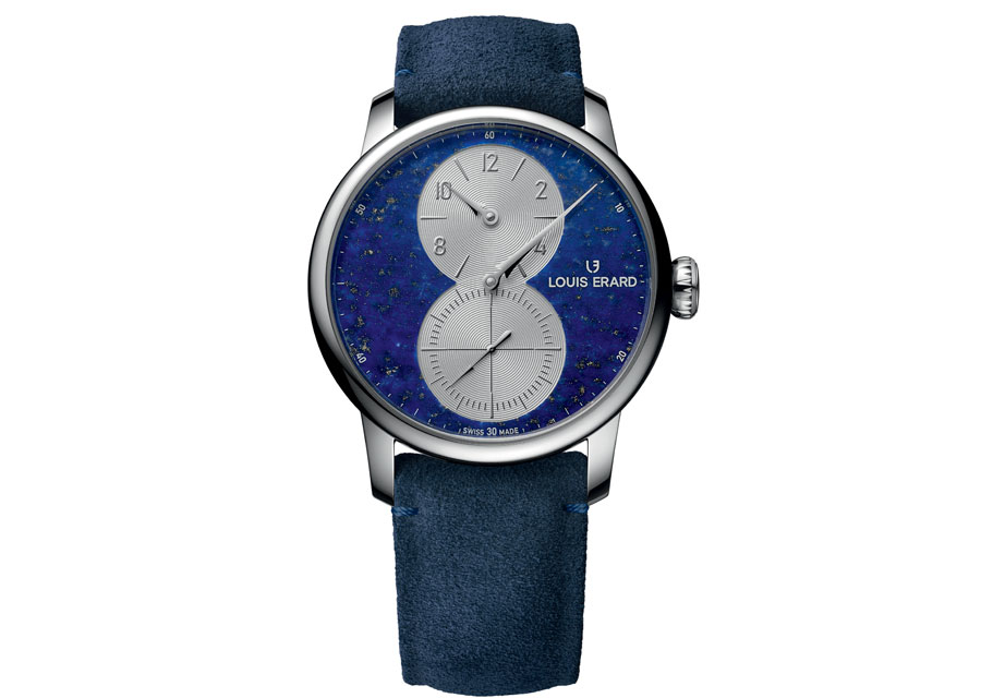 Le féérique cadran de l'Excellence Régulateur de Louis Erard présentée au salon Geneva Watch Days