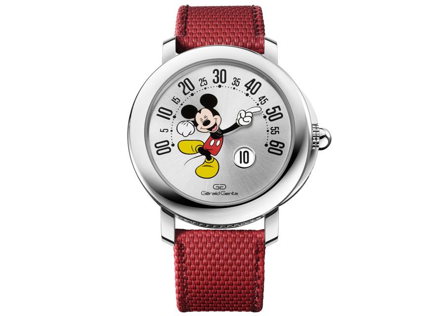 Gérald Genta présente sa nouvelle Arena Rétro Mickey Mouse Disney au Geneva Watch Days