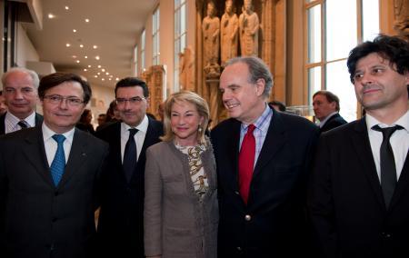 Alain Griset, Jean-Michel Delisle, Juan-Carlos Torres, Catherine Dumas, Frédéric Mitterrand, Serge Nicole