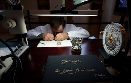 A watchmaker from the Manufacture Vacheron Constantin