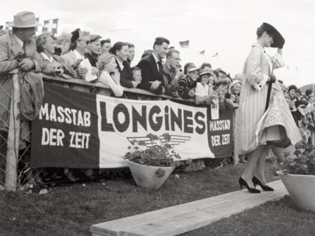 St-Gallen (Switzerland) International Horse Show in 1956.