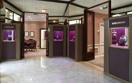 The Monaco boutique of Boucheron