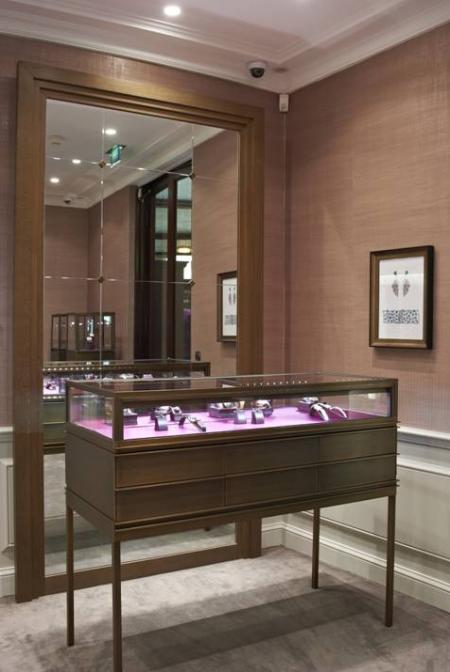The Monaco boutique of Boucheron