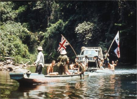 The British Trans-Americas expedition, 1971-1972