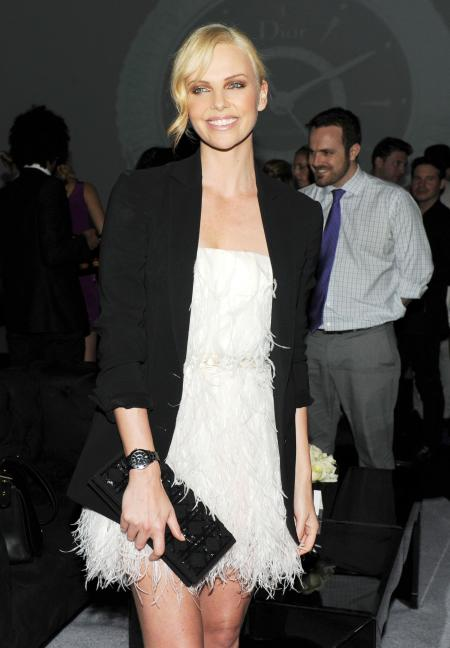 Charlize Theron, the beautiful spokesperson of Dior.