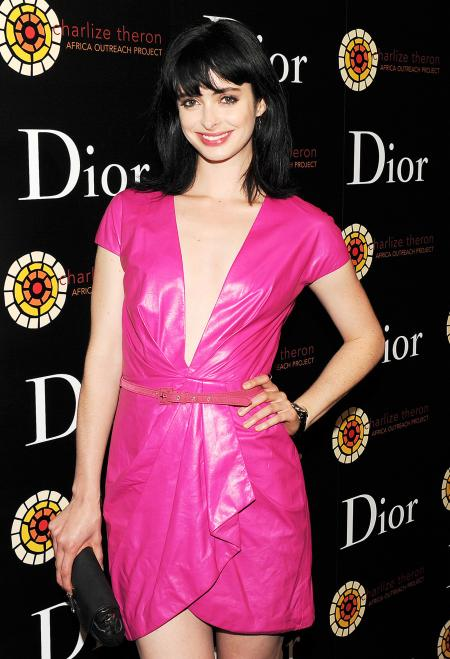 The actress Krysten Ritter was present at the launch of the new Dior VIII.