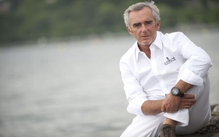 Loïck Peyron is now the Advisor for all Corum sailing sponsorship. As an ambassador of the brand, he will wear the Admiral's Cup with regatta function to be unveiled in 2013.