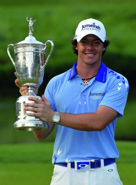 Rory McIlroy, Audemars Piguet Ambassador, can smile! He just won the U.S. Open Golf at only 22 years.