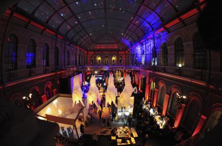 L'Ecole Nationale Supérieure des Beaux-Arts at Paris : a beautiful place for a birthday party.