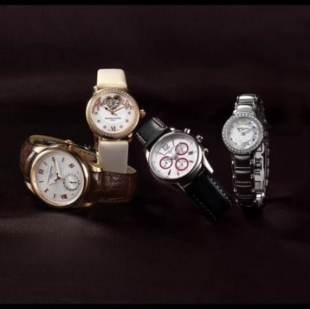 The Maxime Manufacture Automatique, the Love Heart Beat Vanille Exquise, the Junior Chronographe et the Junior Lady.