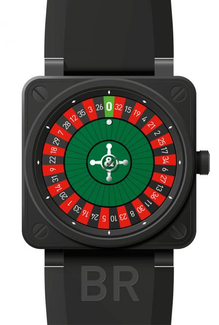 The BR01 CASINO Carbon Exclusively designed for casinos in Monaco, Las Vegas and Macau, in limited edition.