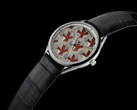 "The Métiers d'Art Perspectives d'Art ""Dove"" model created for Only Watch 2011"