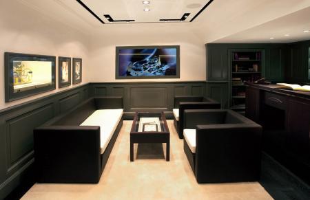 Comfortable reception room.