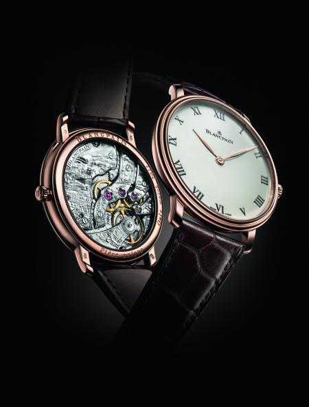 The Villeret Grande Decoration Special edition - Only Watch 2011, born of the work of master watchmakers Blancpain and master engraver Tarbouriech Marie-Laure.